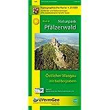 Naturpark Pfälzerwald /Östlicher Wasgau mit Bad Bergzabern (WR): Naturparkkarte 1:25000 mit Wander- und Radwanderwegen (Freizeitkarten Rheinland-Pfalz 1:15000 /1:25000)