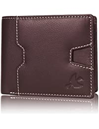 Hornbull Edward Brown Men's Genuine Leather RFID Blocking Wallet