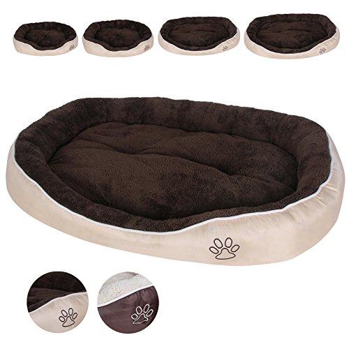 Songmics oxford cuccia lettino per cani in tessuto con for Cucce per cani in offerta