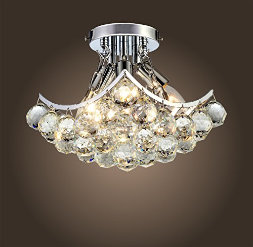 dp chandelier crystal semi x ac french flush empire chandeliers lighting