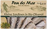 Pan do Mar Kleine Sardinen in Bio Olivenöl