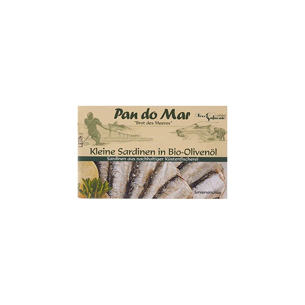 Pan Do Mar Kleine Sardinen In Bio Olivenl 5er Pack 5 X 120 G