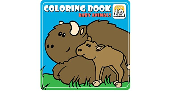 Coloring Book 10 Baby Animals Download Amazoncouk Software
