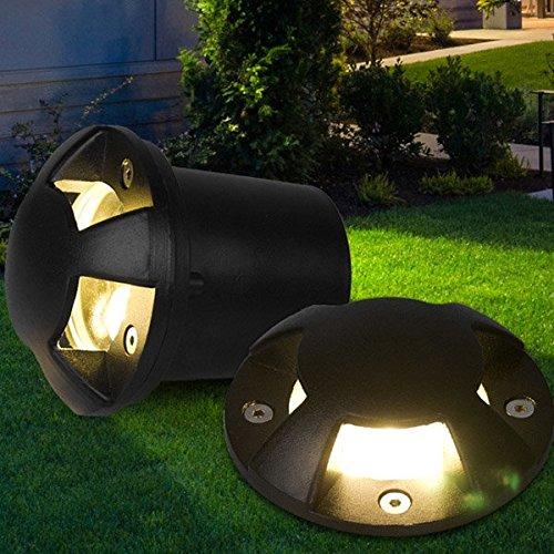 Bazaar AC 220V 3W 6W Garten Rasen Rasen im Freien Licht LED Beerdigt Wasserdicht Lampe unterirdischen