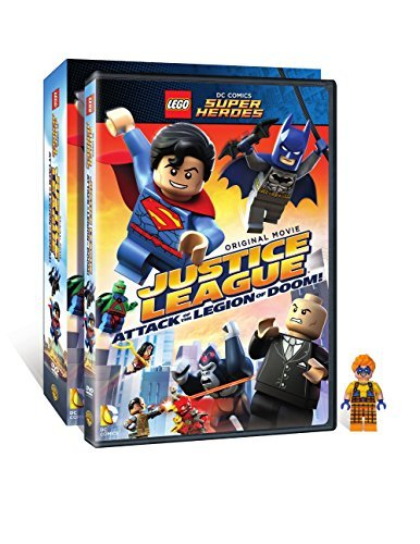 LEGO DC Super Heroes: Justice League: Attack of the Legion of Doom! w/ Figurine by Dee Bradley Baker