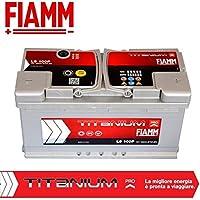 Fiamm L5 100P Batteria Auto Titanium Pro 12V 100Ah 870A/EN