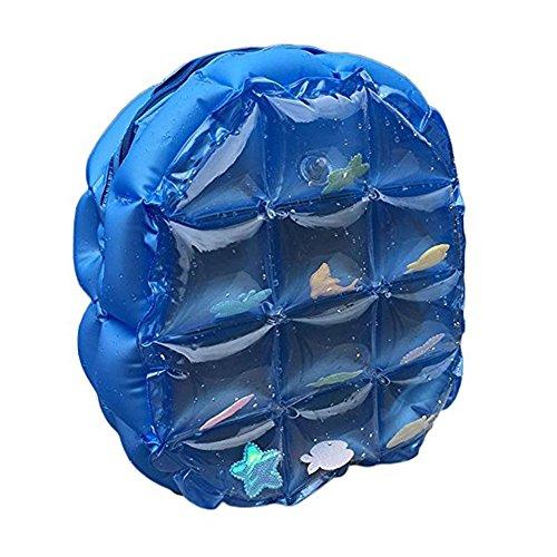 Zerlar Sacchetti di spalla della spiaggia Zaino spalla gonfiabile dello zaino sacchetto impermeabile Blu