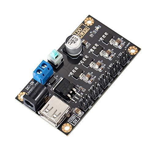 Nobsound LM7805 DC-DC Multiple Output Linear Power Supply Module 5V/3.3V/2.5V/1.8V/1.2V Leistungsmodul