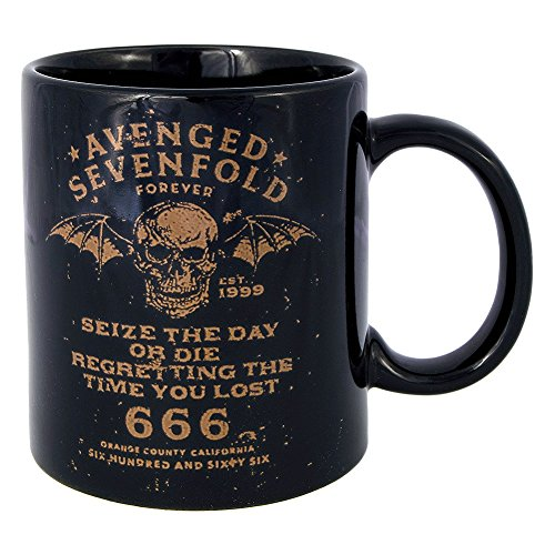 Tazza Seize The Day Avenged Sevenfold (Nero)