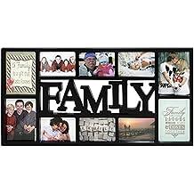 Portaretratos Tamaño XL - Family/Familia [Negro] (73cm x ...