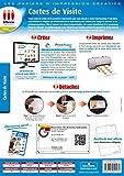 CARTES DE VISITE PROFESSIONNELLES (100) 220 GR 2880 DPI (Informatique)