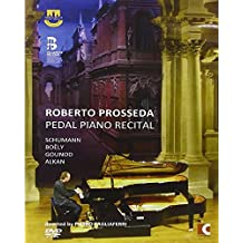 Pedal piano recital Skizzen fur den pedalflugel op 58 (1845) n.1 > n.4 Studio per pedalpiano op 56 n.1 > n.6 Fantasia e fuga op 18 n.6 Marcia funebre di una marionetta (1882)