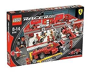 lego 8144 racers jeu de construction ferrari f1 team jeux et jouets. Black Bedroom Furniture Sets. Home Design Ideas