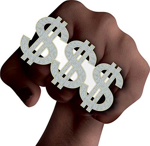Dollar-3-Finger-Ring