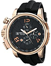 Sector Herren-Armbanduhr XL Analog Quarz Plastik R3271776002