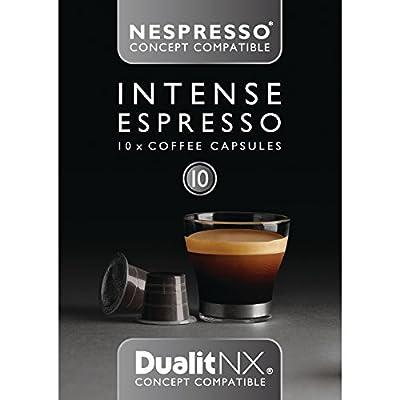 Dualit NX Capsules Intense Espresso Intense Espresso. Pack quantity: 120