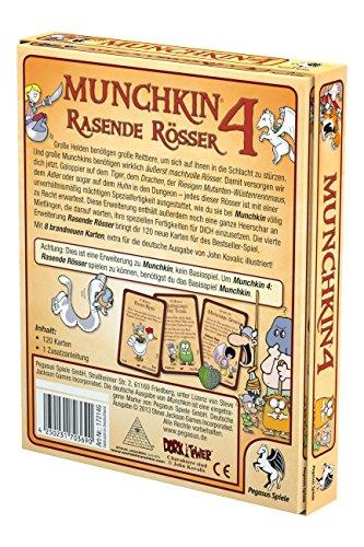 Pegasus-Spiele-17214G-Munchkin-4-Rasende-Rsser