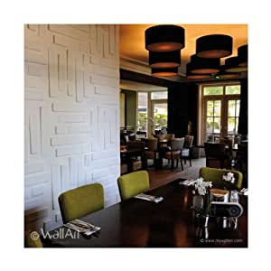 "Wallart ""Bricks"" (3D Wall Panels, 500mm x 500mm or 32.29 Sqft)"