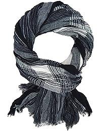 c61fb0bfd5bb8d Ella Jonte Herrenschal grau schwarz weiß by Schal Herbst Winter weich  wärmend