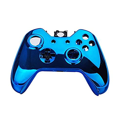 Kobwa Wireless Controller Replacement Mod Kit Plating Shell Case for Xbox One Wireless Controller Chrome