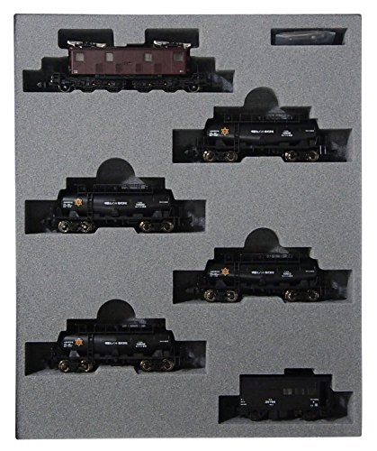 n-gauge-10-1184-ed19-taki-10600-cement-transport-train-myojo-cement-6-car-set-by-cato