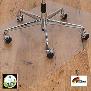 KAISER PLASTIC® Bodenschutzmatte   Made-In-Germany   für Hartboden   90 x 120 cm   aus PET