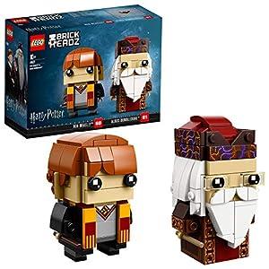 LEGO BrickHeadz Ron Weasley & Albus Dumbledore 41621 (180 Pezzi)  LEGO