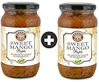 Organic Nation Sweet Mango Pickle Pack of 2
