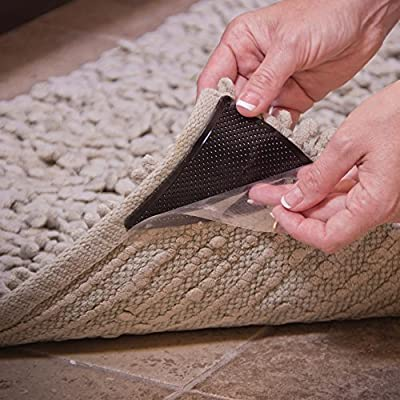 Rug Gripper Self Adhesive Reusable JML Ruggies Pack Of 8 Floors Home - low-cost UK rug store.