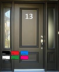 Door Numbers Stickers, Adhesive Number Stickers, Vinyl Decal Stickers, Door Sign, Door Decor, Vinyl Stickers, Door Stickers, Front Door Decal, Vinyl Lettering, Wall Decor, Vinyl Decal, Welcome Sign