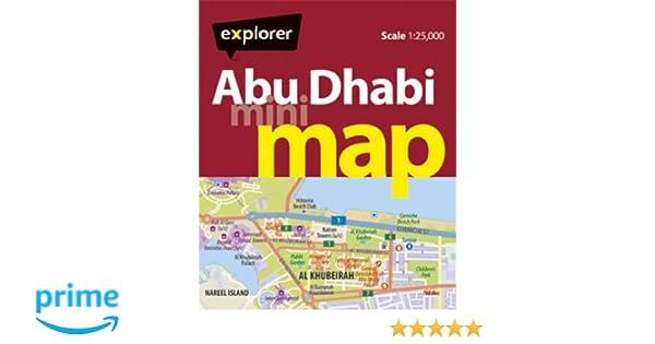 Abu Dhabi Mini Map (Mini Maps): Amazon.de: Explorer Publishing and ...