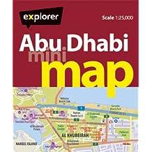 Abu Dhabi Mini Map (Mini Maps)