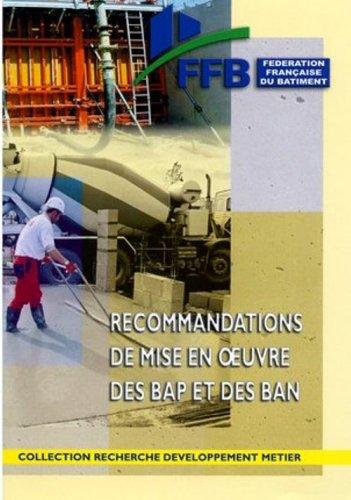 Recommandations de mise en oeuvre des BAP et des BAN par FFB