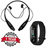 Raptas RapGear M3 Fitness Watch Sport Wristband Activity Tracker Heart Rate Monitor, Sleep