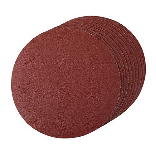silverline-427660-hook-and-loop-discs-180-mm-120-grit-pack-of-10
