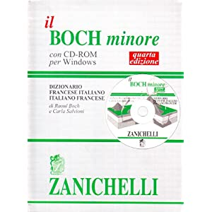 Il Boch minore. Dizionario francese-italiano, ital