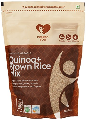 Nourish You Quinoa with Brown Rice Mix, 500g