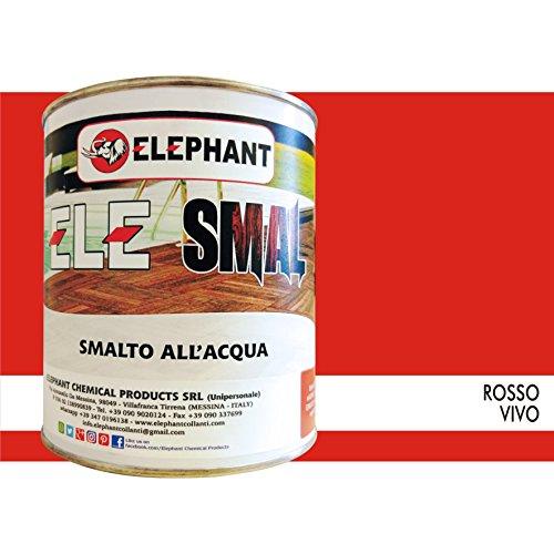 smalto-vernice-allacqua-ele-smal-750ml-legno-rosso-vivo