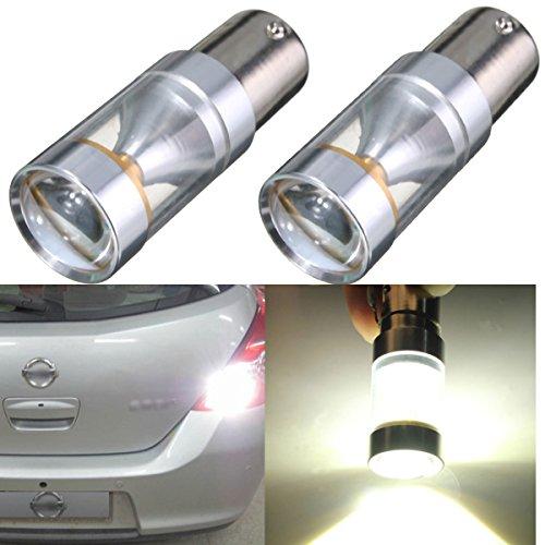 Preisvergleich Produktbild AUDEW 2x Weiß 1156 BA15S XBD LED Auto Leuchten Blinker RücklichtRückfahrscheinwerfer Rücklampen Rückfahrlicht Rückfahrleuchte Standlicht Glühlampe Tagfahrlicht Leuchtmittel DC 12V