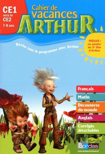 Cahier vacances Arthur CE1/CE2 2011 par Collectif