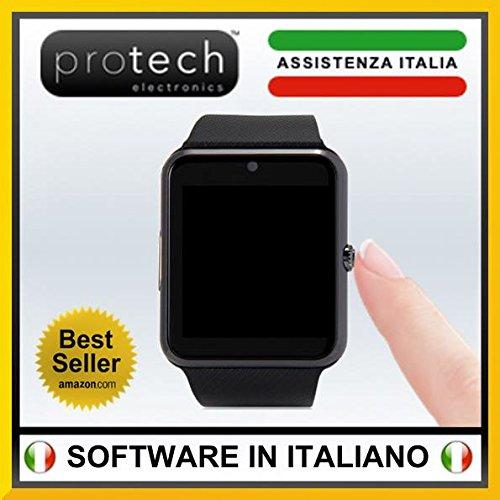 Prowatch-Plus-ORIGINALE-IN-ITALIANO-Smartwatch-orologio-touch-intelligente-PW1-con-funzione-telefono-Compatibile-con-Android-e-iPhone-Ios-6-plus-S-6S-6plus-6-5S-5C-5-4S-4-Android-Samsung-Galaxy-4-Note