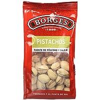 Borges - Pistachos con Cáscara Tostados y Salados - Bolsa de 130 Gramos.