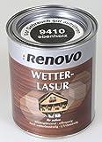Renovo, Wetterlasur, 750 ml Ebenholz, seidenglänzend für außen