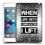 Head Case Designs Lift Fitness Motivation Soft Gel Hülle für iPad Mini 4