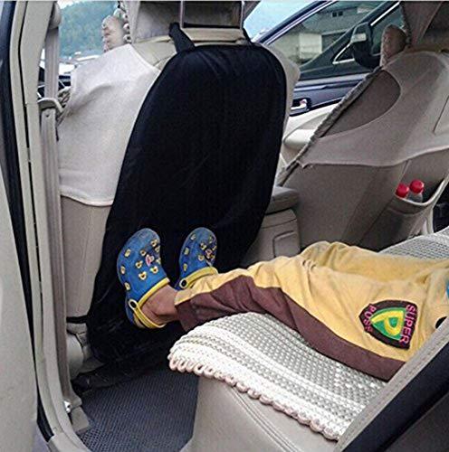 Demarkt Autositz Rückenschutz Schutz Autositz Rückenlehne Kinder Anti-schmutzig Auto Träger Auto-Sitz Rückseiten-Schutz-Abdeckung Abnehmbare Hängen Auflage Car Seat Cover Kick Matte für Kids