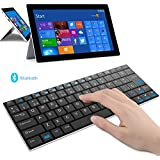 Rii Mini i9 Bluetooth (layout ESPAÑOL) - Teclado ultra fino para Tablets, Smartphones, Mini PC Android, PlayStation, HTPC, PC, Raspberry Pi, Smart TV - NEGRO