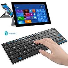 Rii Mini i9 Bluetooth (layout ESPAÑOL) - Teclado ultra fino para Tablets, Smartphones, Mini PC Android, PlayStation, HTPC, PC, Raspberry Pi, Smart TV - NEGRO