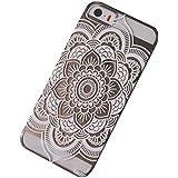 Sannysis für iPhone 5 5S;Henna Mandala Voll Floral Dream Catcher-Fall-Abdeckung