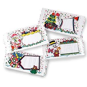 Rouleau 30 etiquettes cadeaux avec devidoir