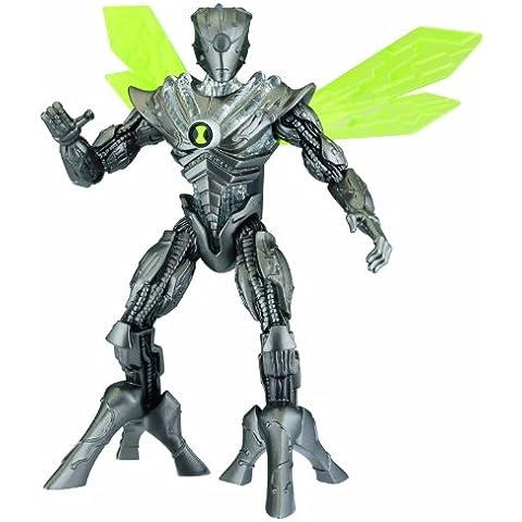 Bandai Ben 10 27545 Nanomech héroe alien ADN - Figura de acción (15.2 cm / 6 pulgadas)